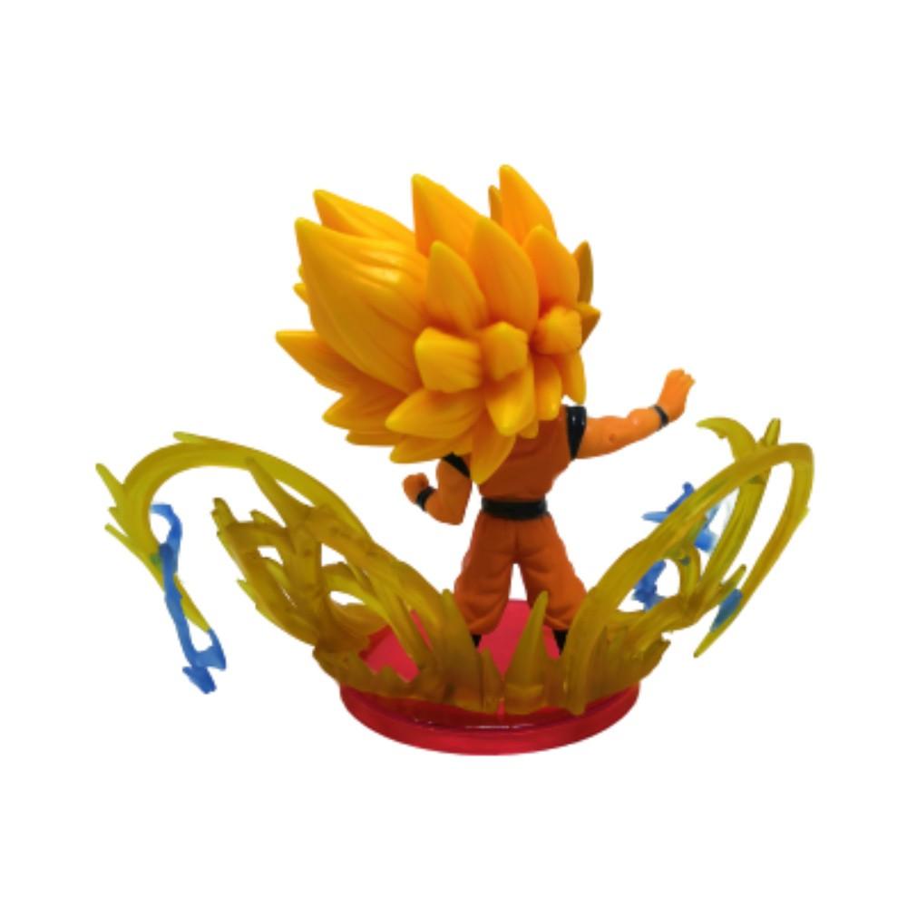 Figure Goku Sayajin 3 Ki - Dragon Ball Z - 10CM