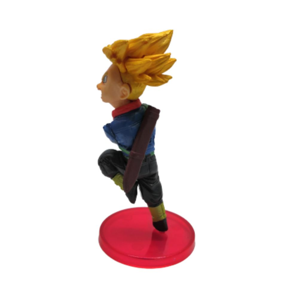 Figure Trunks do Futuro - Dragon Ball Z DBZ - 7CM