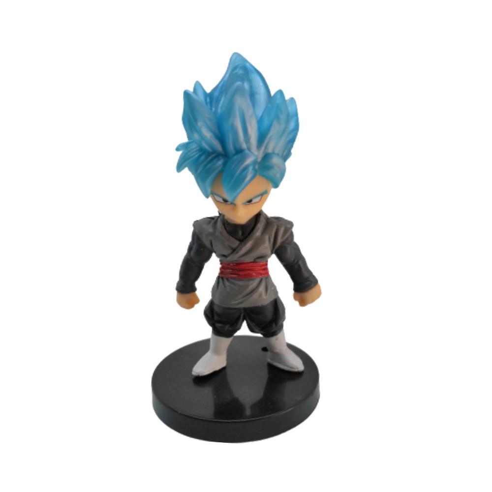 Figure Goku Black SSJ Deus - Dragon Ball Z DBZ - 7CM