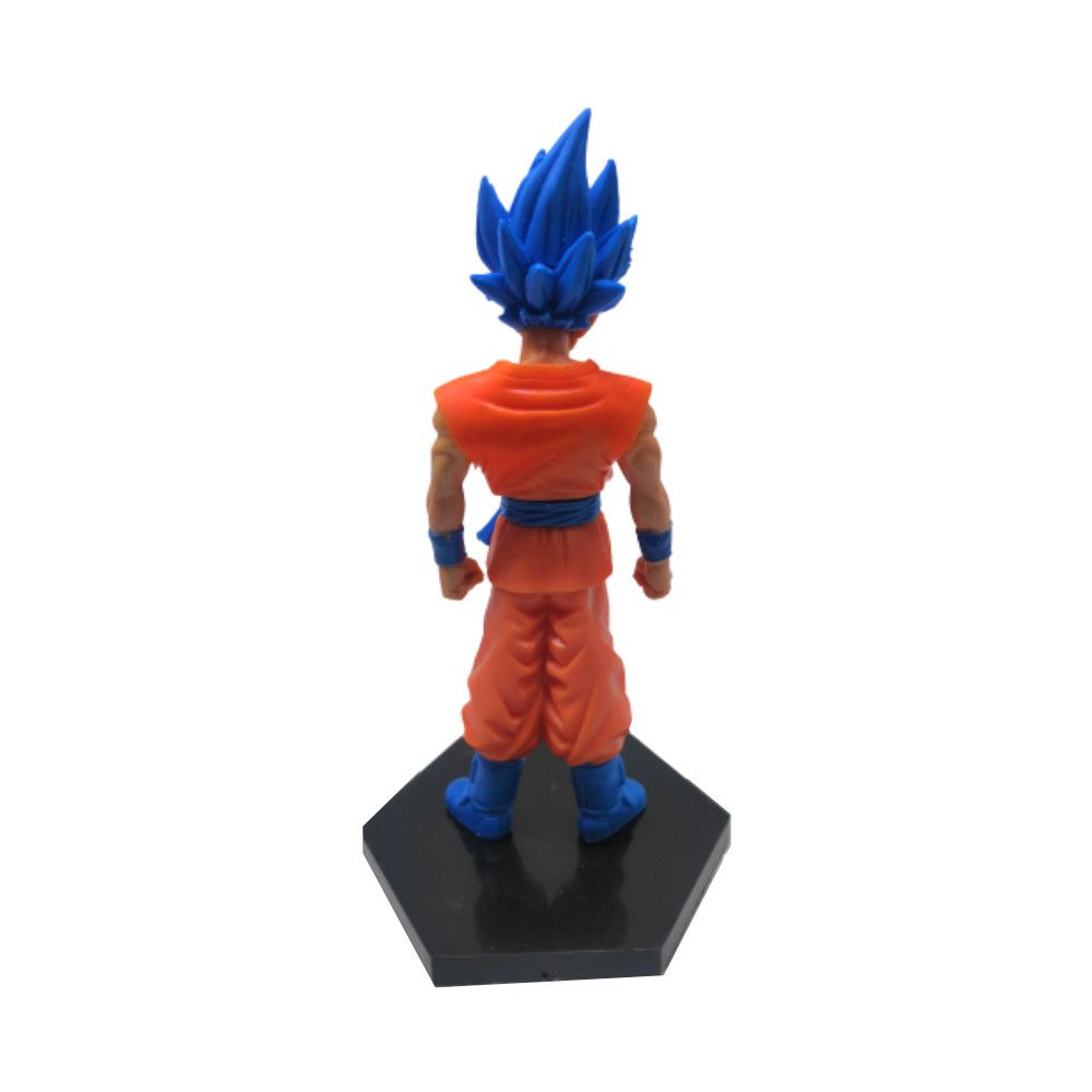 Figure Goku Blue - Dragon Ball Z DBZ - 14CM