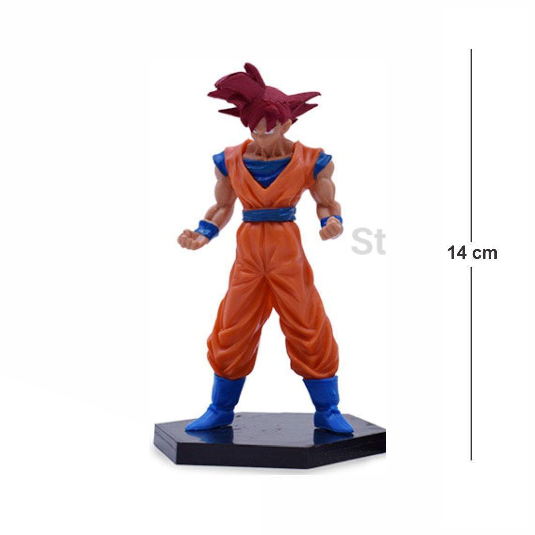 Action Figure DBZ Goku Deus 14CM