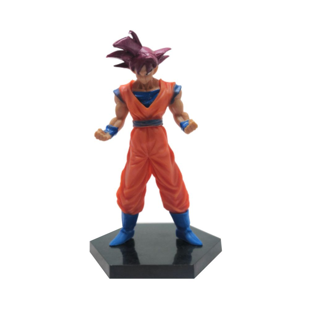 Figure Goku Deus - Dragon Ball Z DBZ - 14CM