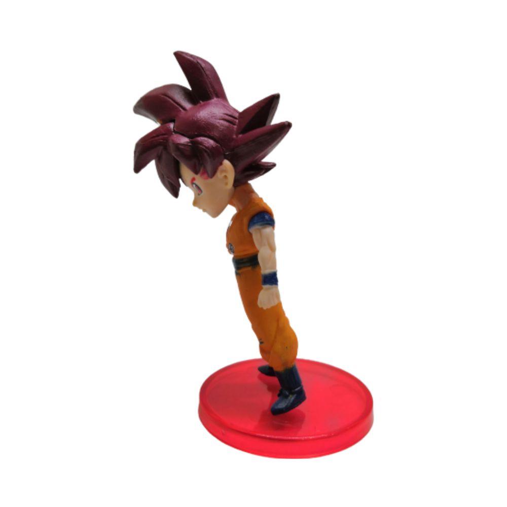 Figure Goku Deus - Dragon Ball Z DBZ - 7CM