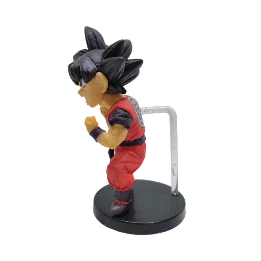 Action Figure DBZ Goku Modelo 2 8CM Base Vermelha