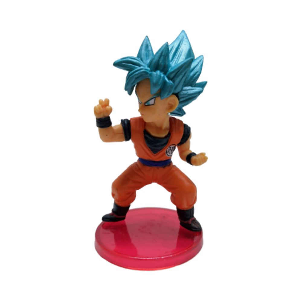Figure Goku Saiyajin Blue - Dragon Ball Z DBZ - 7CM