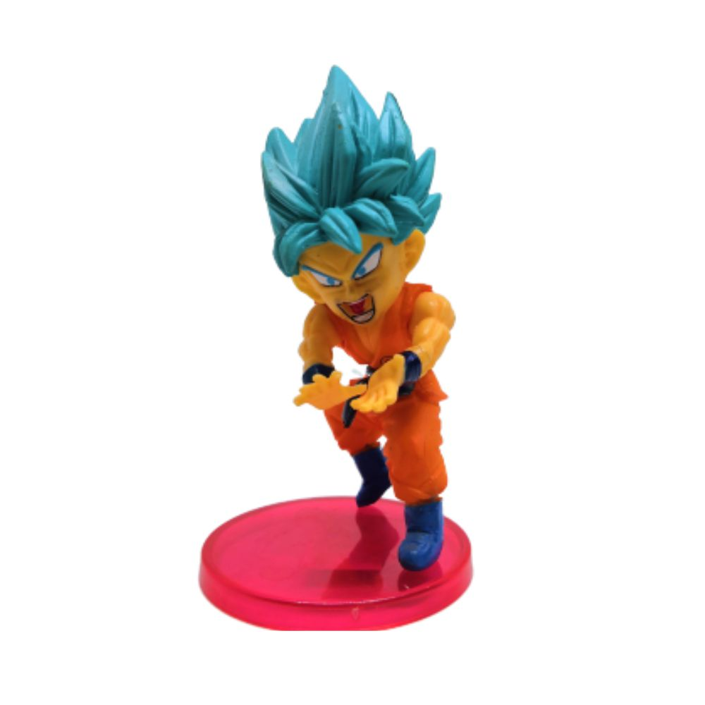 Figure Goku Saiyajin Blue - Dragon Ball Z DBZ - 7CM