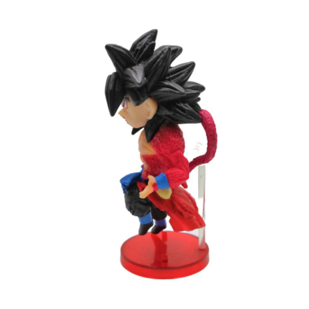 Figure Goku SSJ 4 - Dragon Ball Z DBZ - 7CM