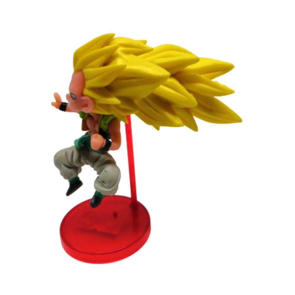 Figure Gotenks SSJ 3 - Dragon Ball Z DBZ - 9CM
