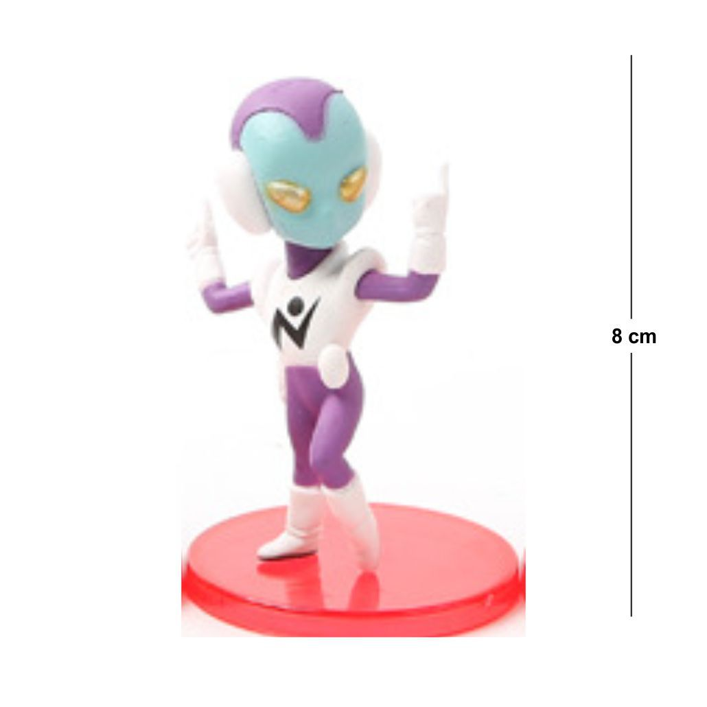 Action Figure DBZ Jaco 7CM PVC  Base Vermelha