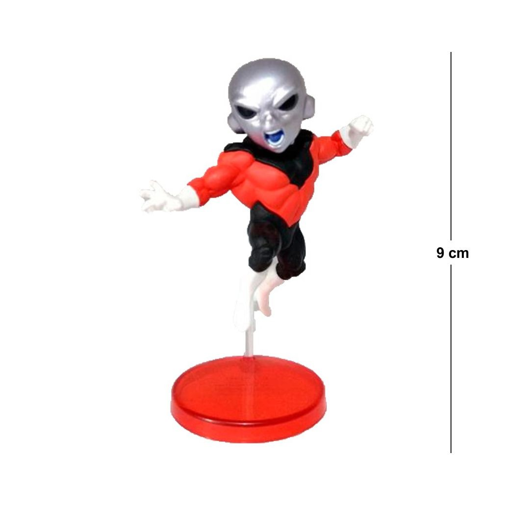 Action Figure DBZ Jiren 9CM  Base Vermelha