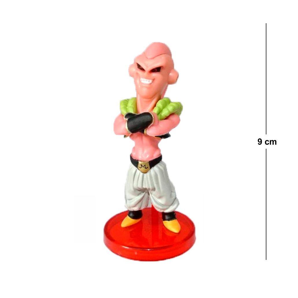 Action Figure DBZ Majin Boo Magro 9CM Base Vermelha