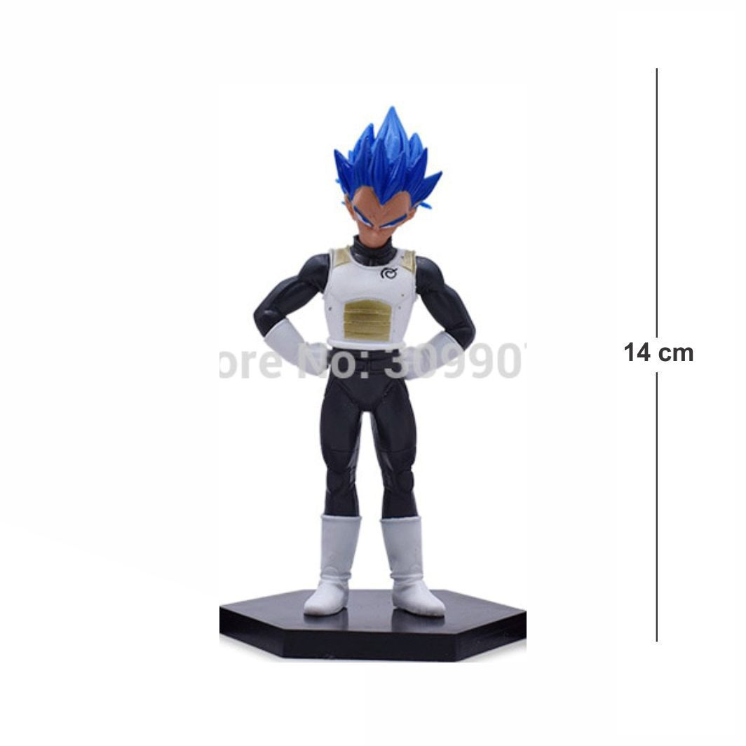 Action Figure DBZ Vegeta Blue 14CM
