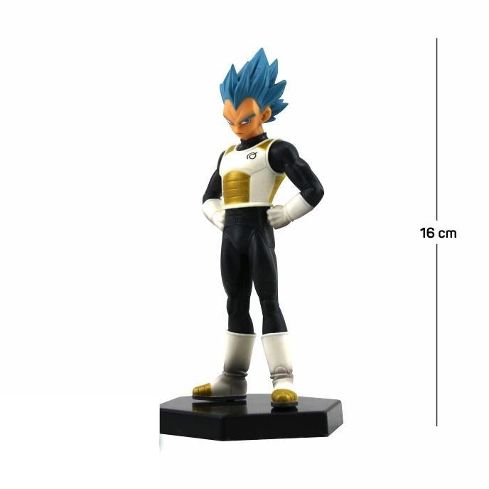 Action Figure DBZ Vegeta SSD 16CM PVC