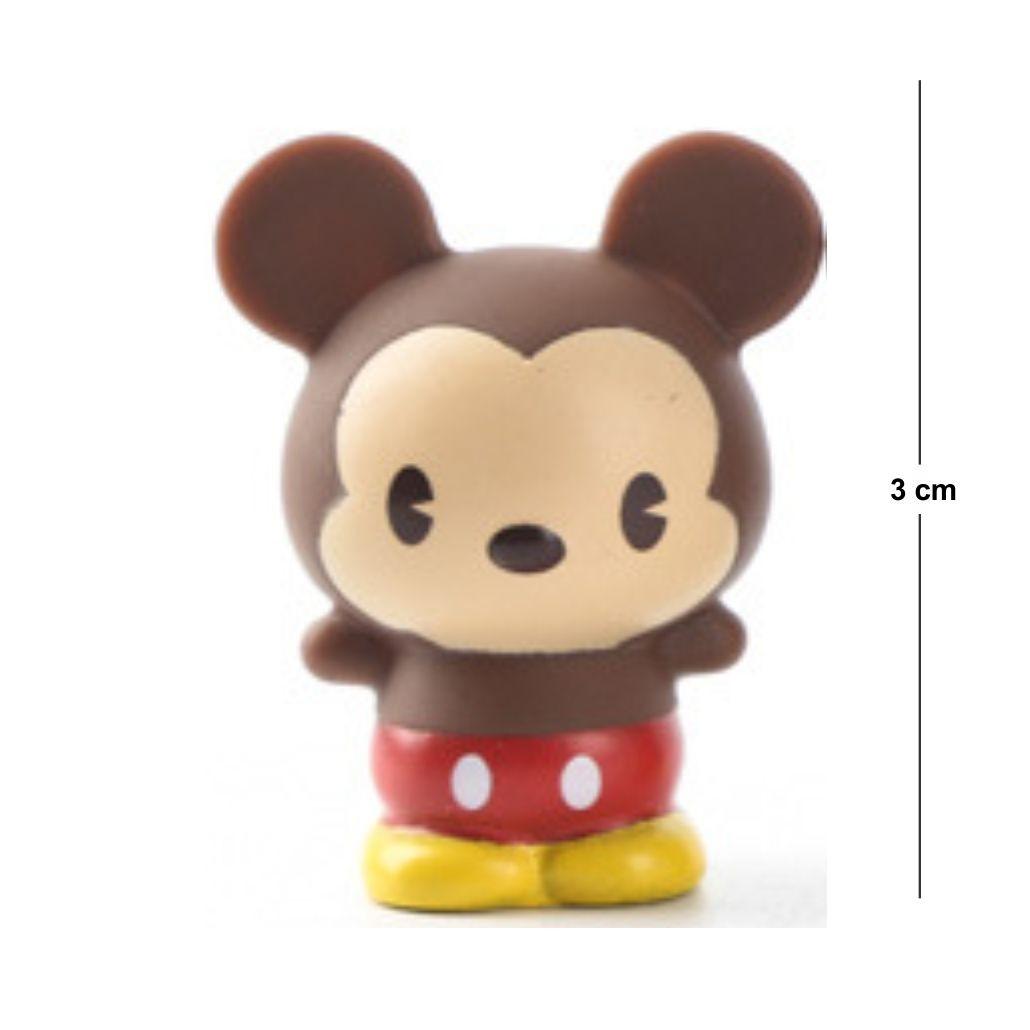 Action Figure Disney Mickey 3CM PVC