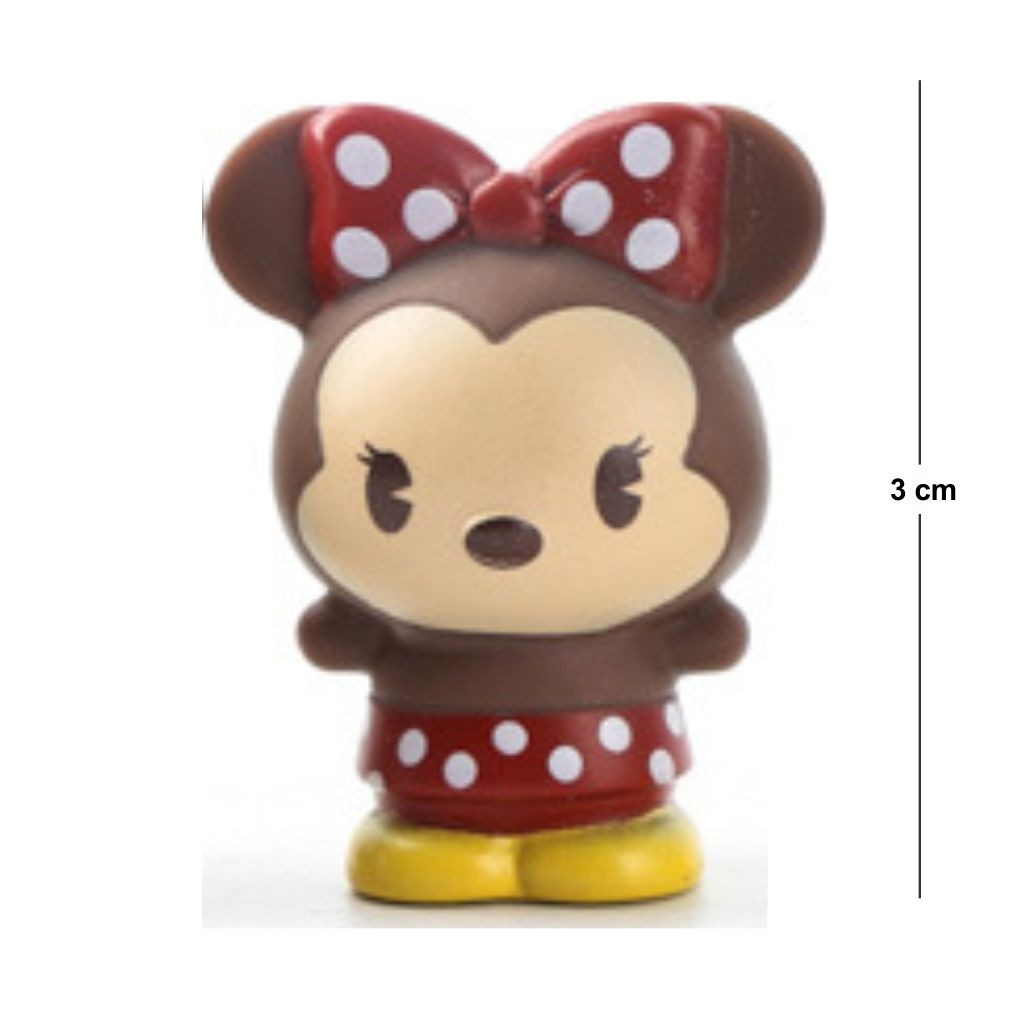 Action Figure Disney Minnie 3CM PVC