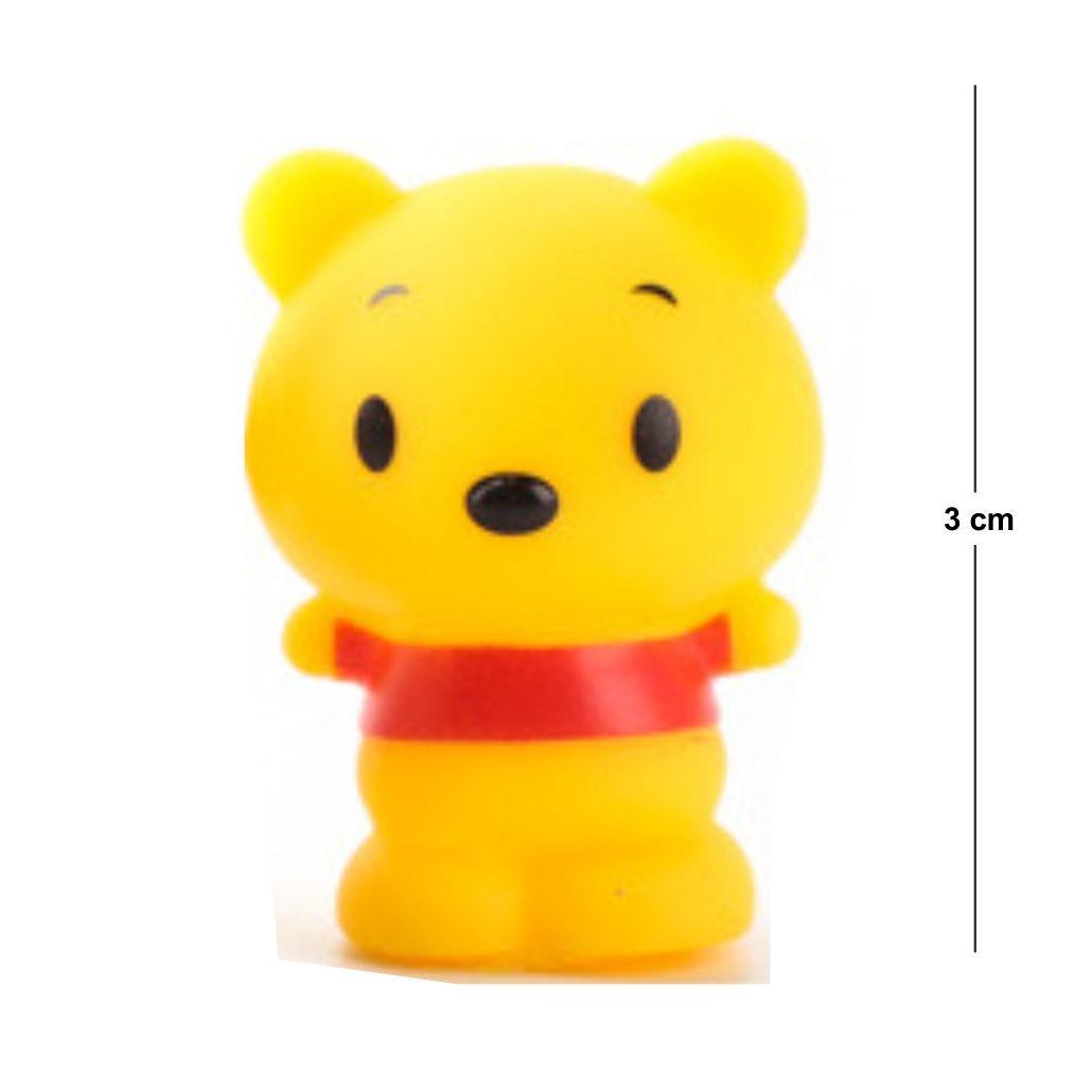 Action Figure Disney Ursinho Pooh 3CM PVC