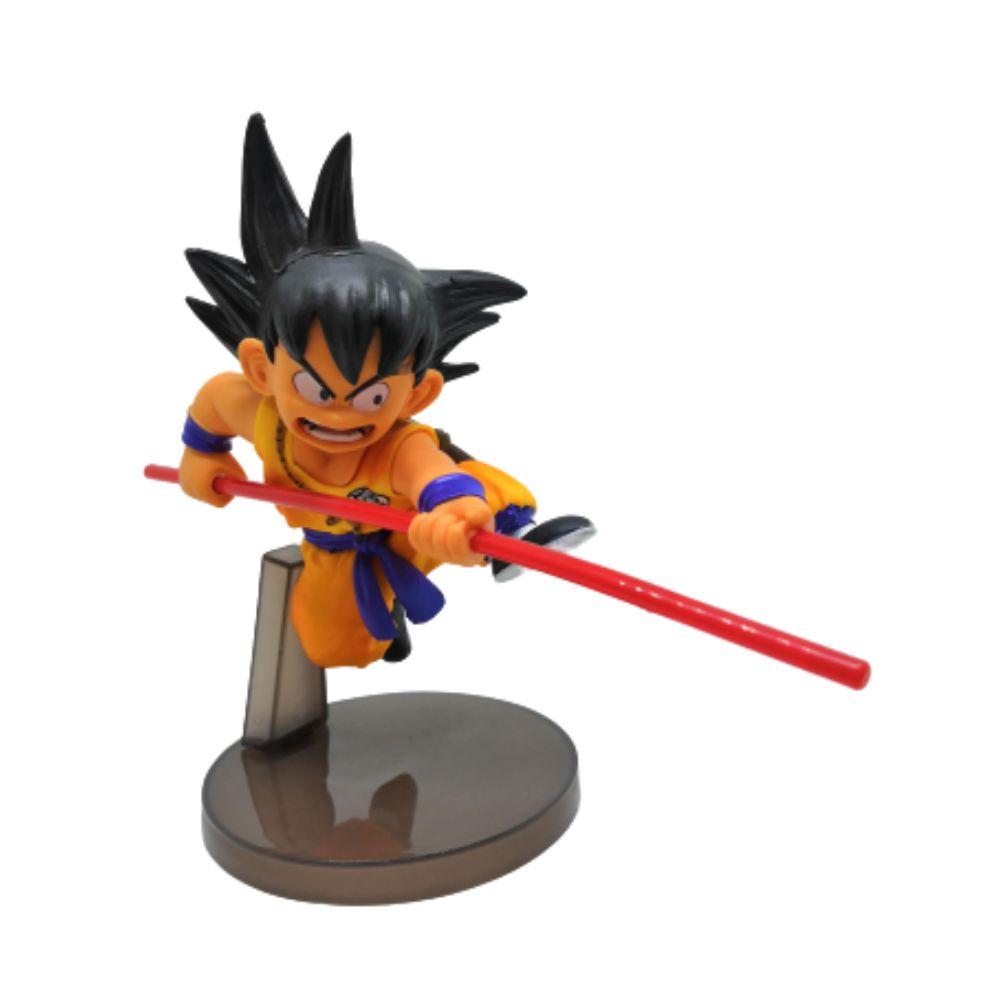 Figure Goku Criança - Dragon Ball Z DBZ - 13CM