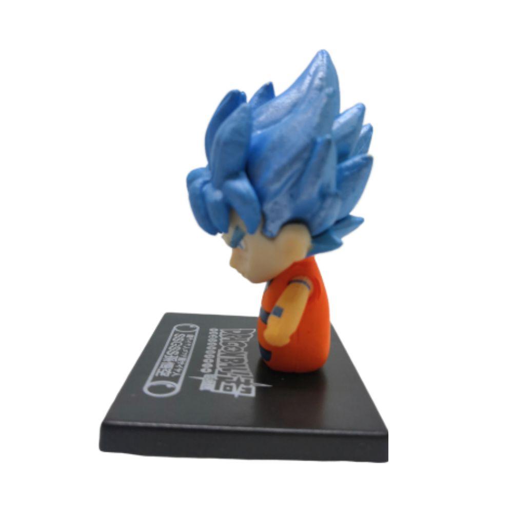 Figure Chibi Goku Azul - Dragon Ball Z DBZ - 3CM