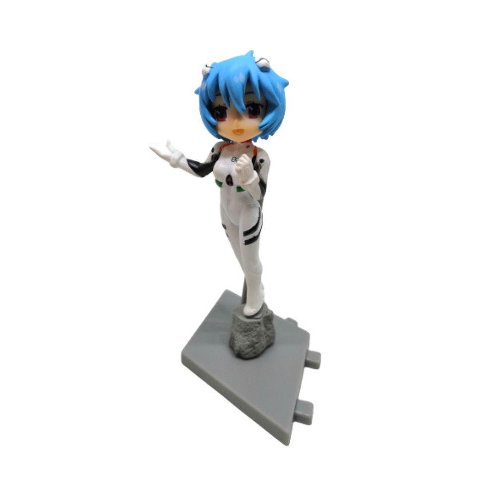 Figure Asuka, Rei e Kaworu - Evangelion - 10CM