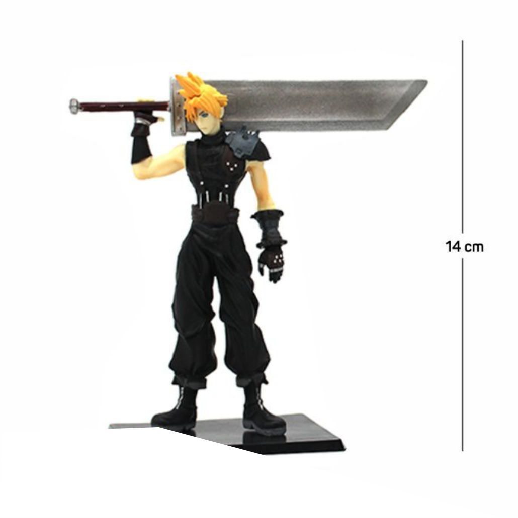 Action Figure Final Fantasy Cloud 14CM PVC