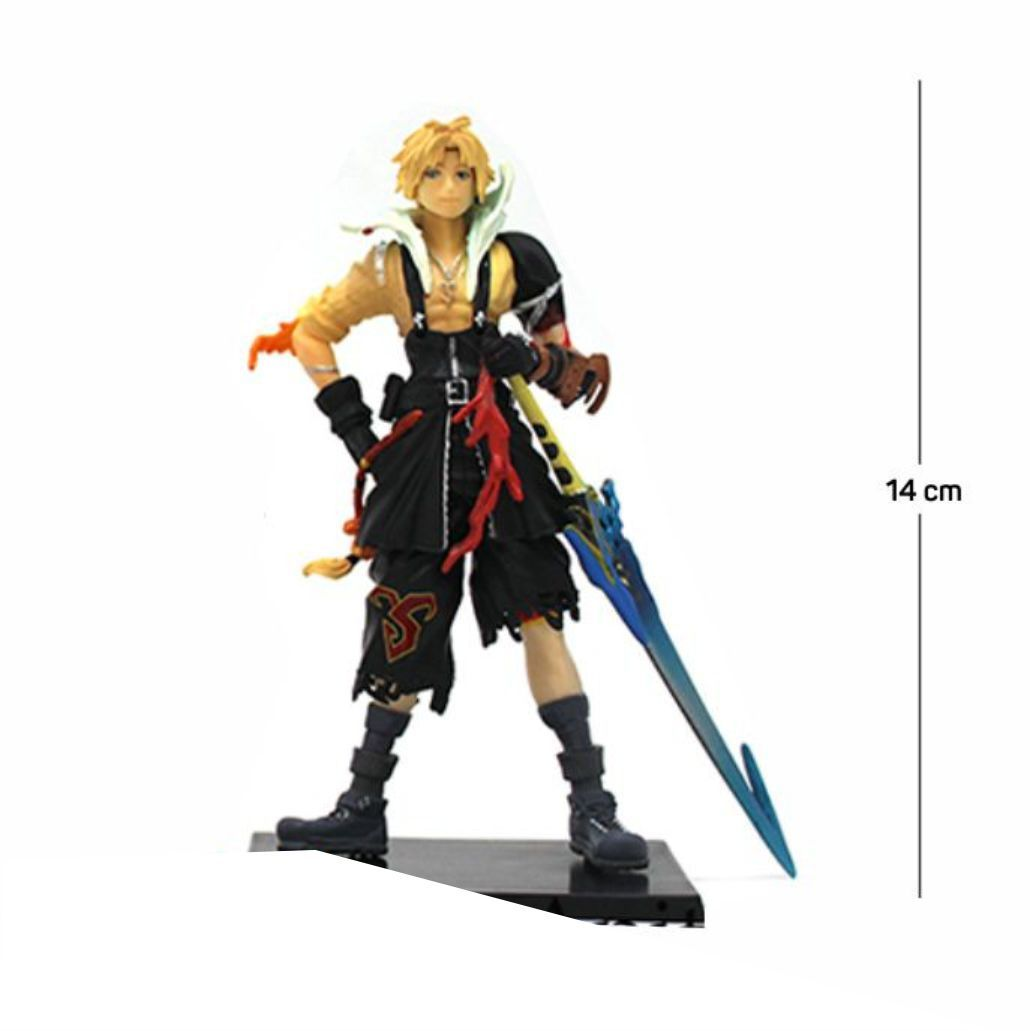 Action Figure Final Fantasy Tidus 14CM PVC