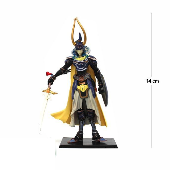 Action Figure Final Fantasy Warrior of Light 14CM PVC
