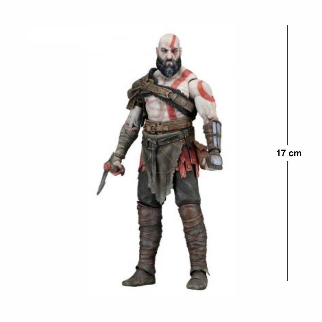 Action Figure God of War Kratos 17CM PVC