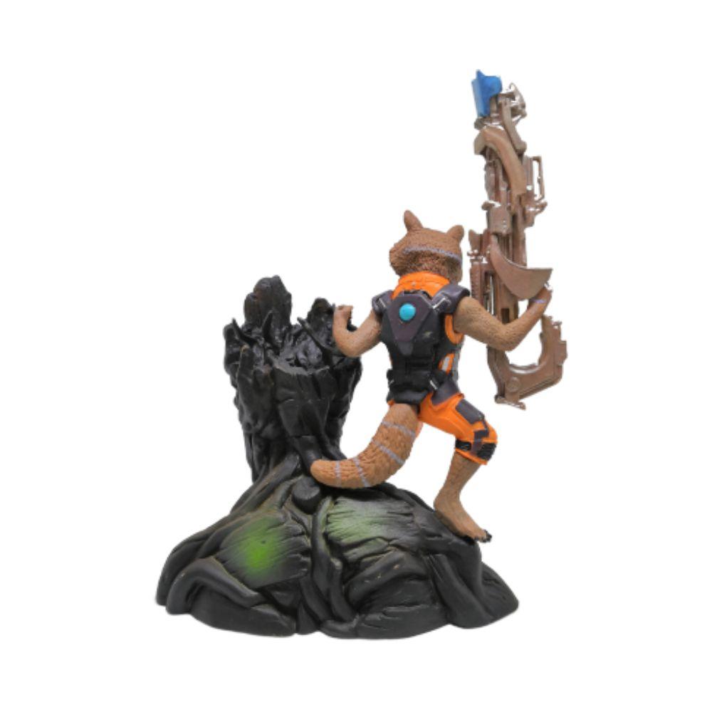 Figure Groot e Rocket Raccoon - Marvel - 12CM