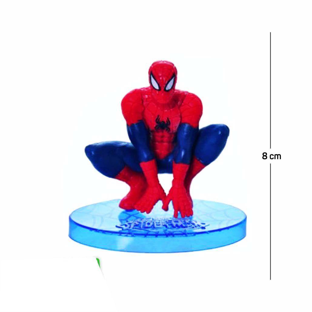 Action Figure Homem Aranha Modelo 2 8CM PVC