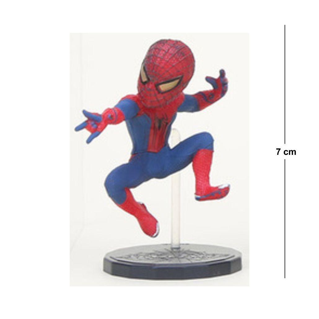 Action Figure Homem Aranha Modelo 3 7CM PVC