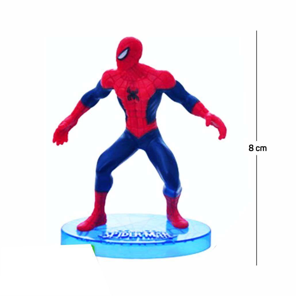 Action Figure Homem Aranha Modelo 3 8CM PVC