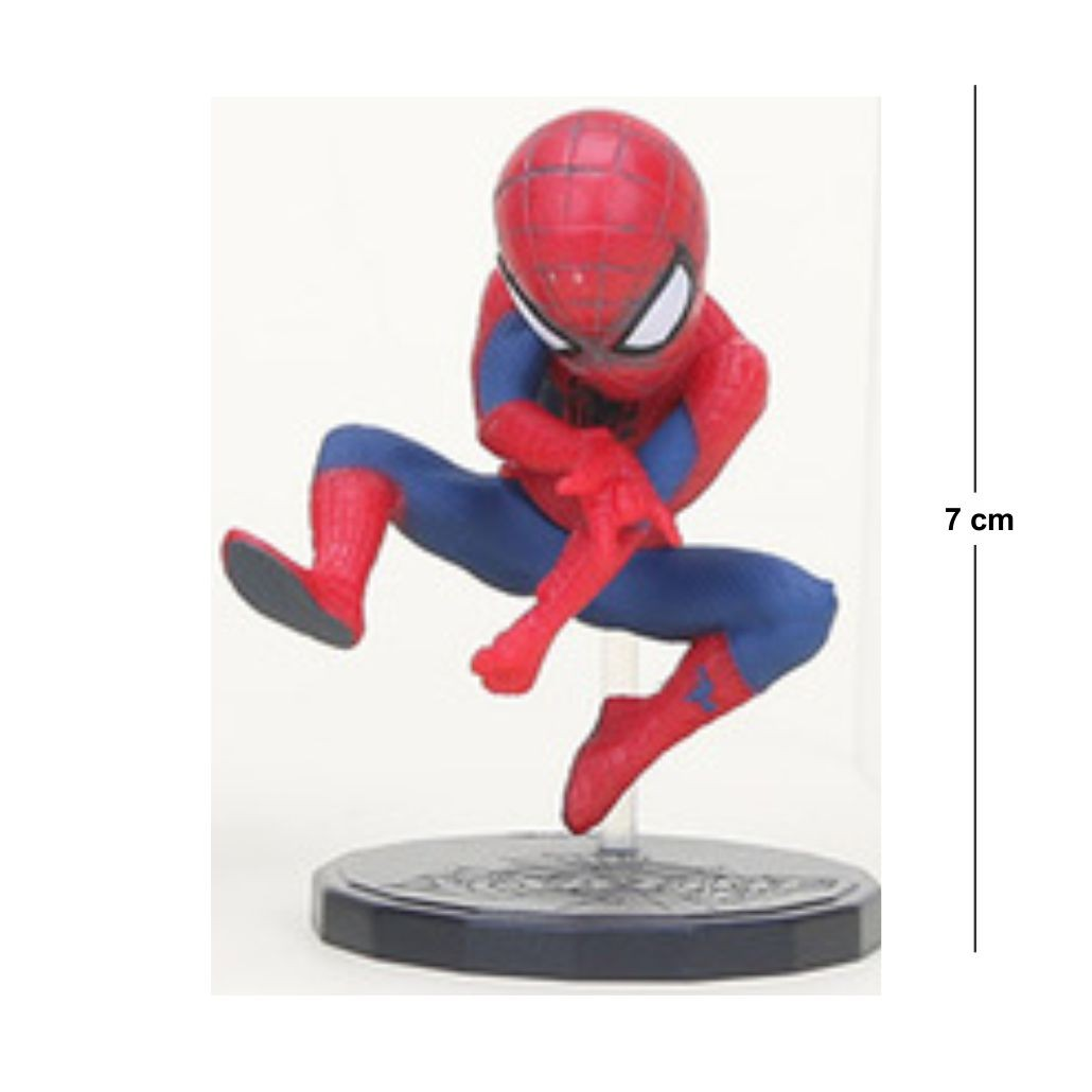 Action Figure Homem Aranha Modelo 4 7CM PVC