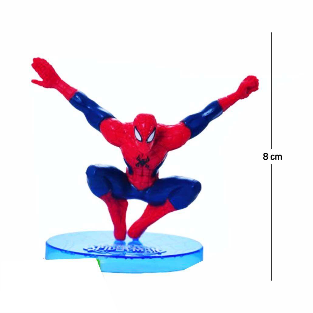 Action Figure Homem Aranha Modelo 4 8CM PVC