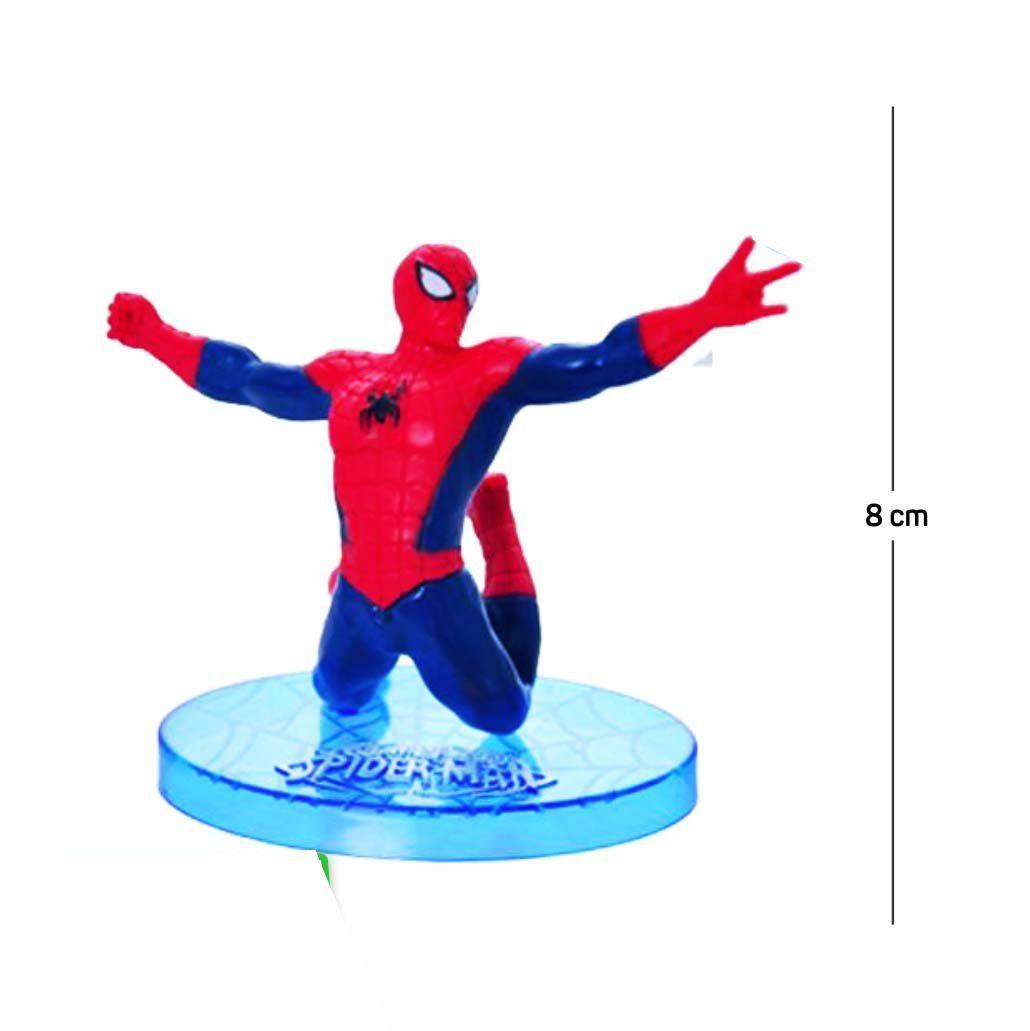 Action Figure Homem Aranha Modelo 7 8CM PVC