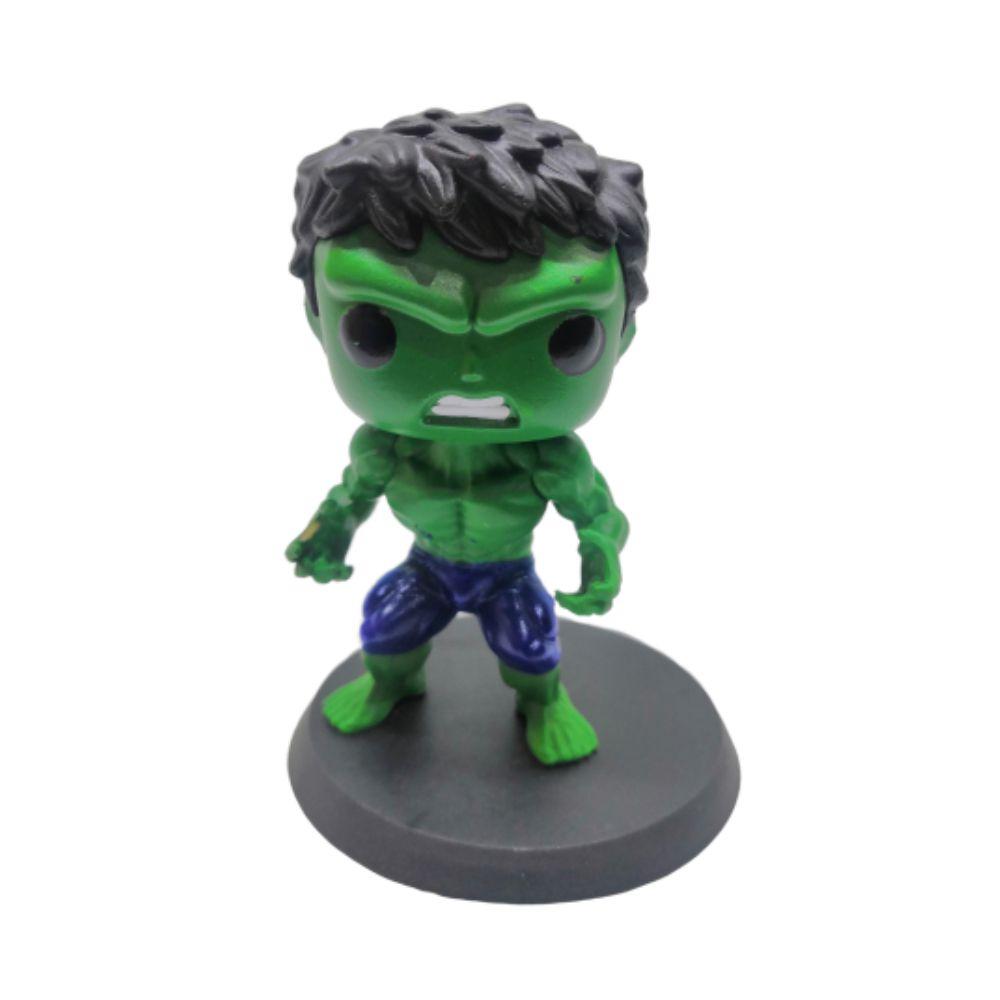 Figure Hulk - Vingadores Marvel - 7CM