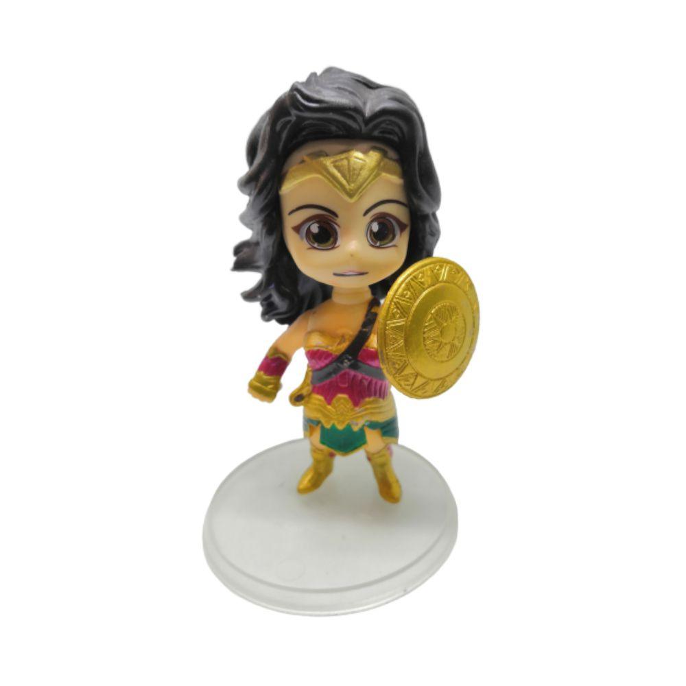 Figure Mulher Maravilha - Liga da Justiça - 9CM