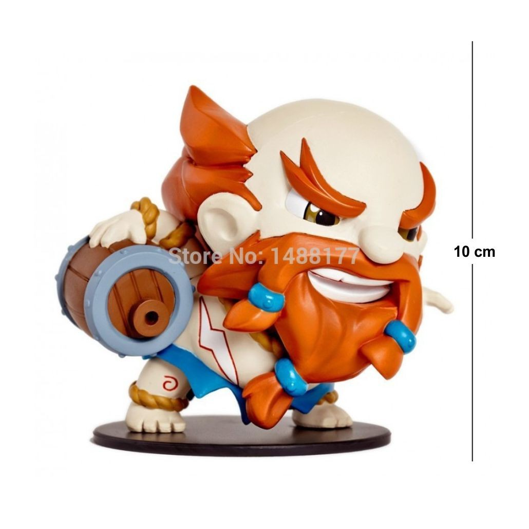 Action Figure LOL Gragas 10cm
