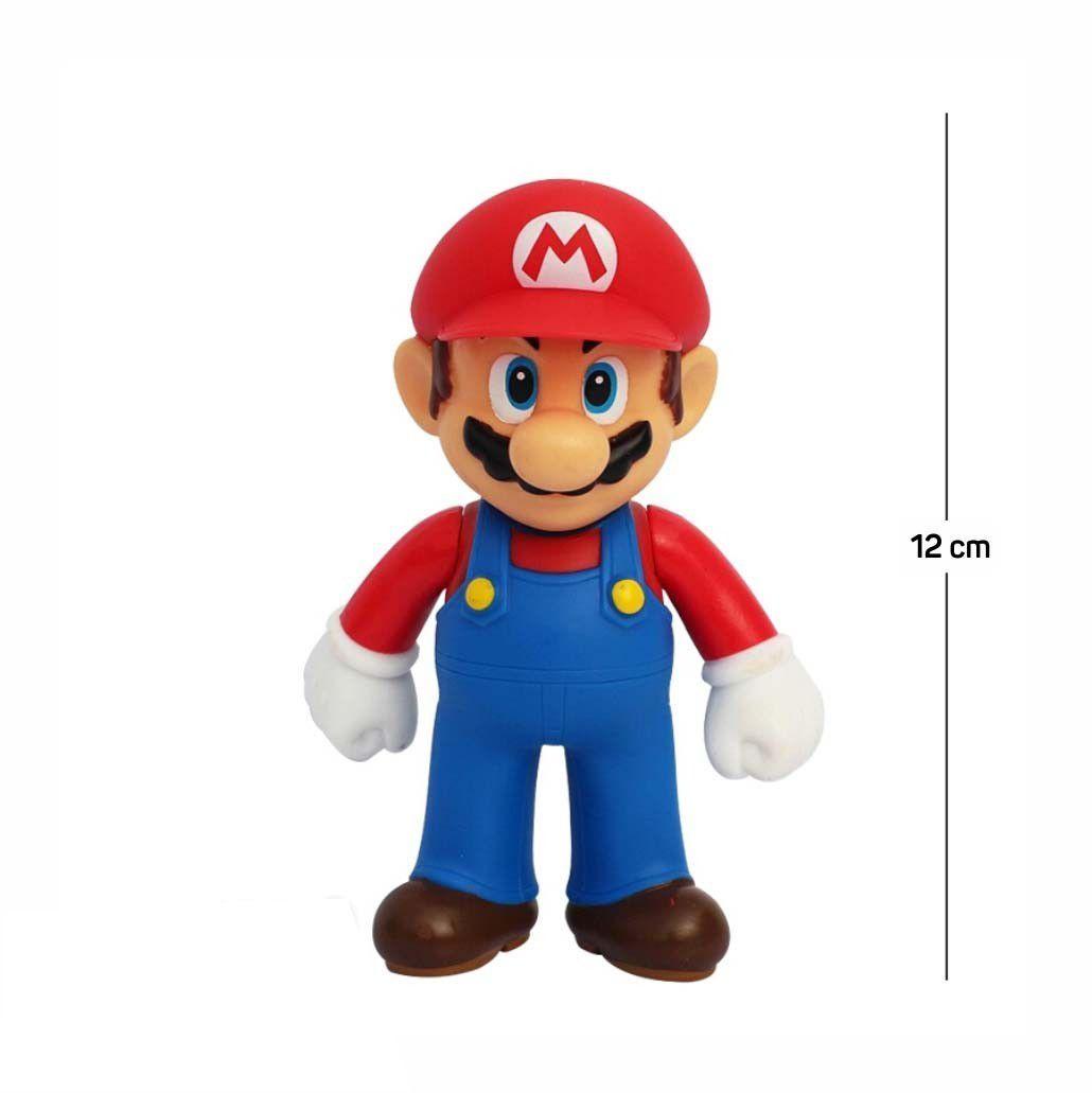 Action Figure Mario 12CM PVC