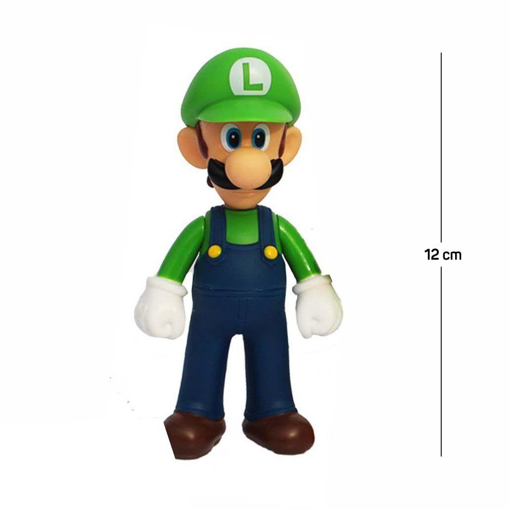 Action Figure Mario Luigi 12CM PVC
