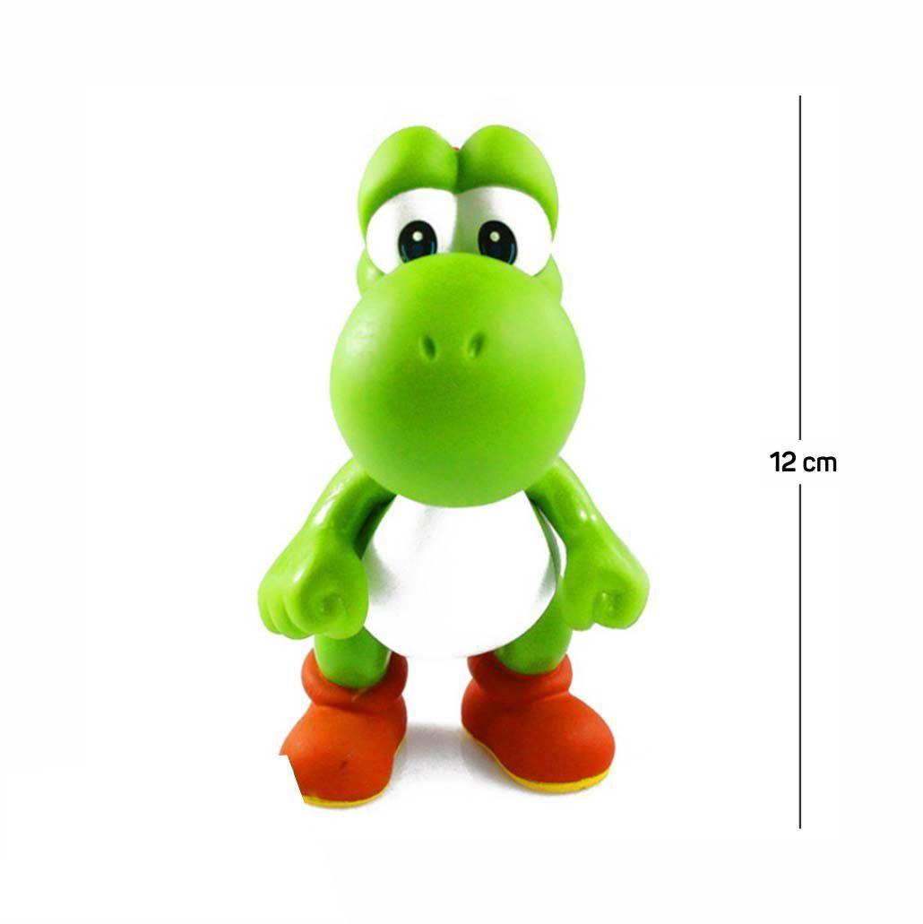 Action Figure Mario Yoshi 12CM PVC