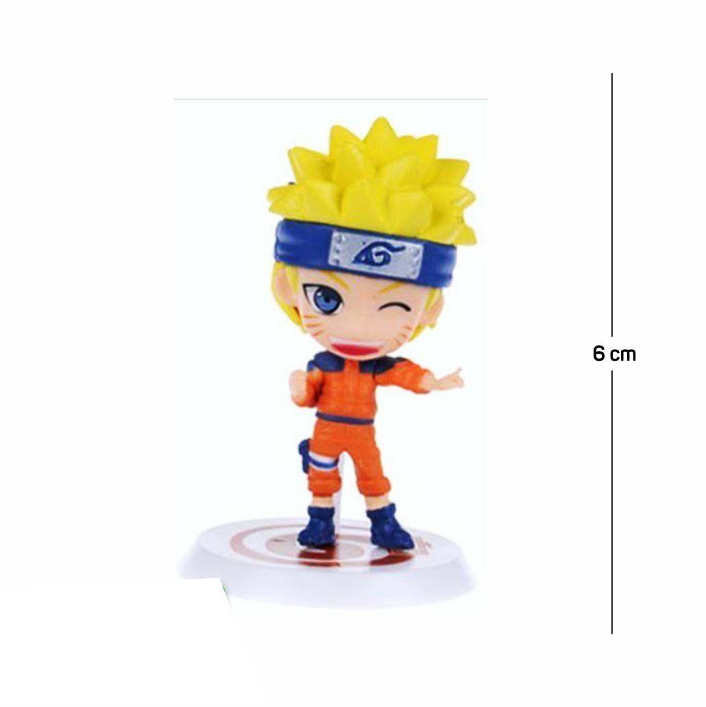 Action Figure Naruto Classic 6CM PVC