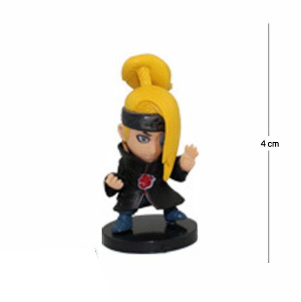 Action Figure Naruto Deidara 4CM PVC