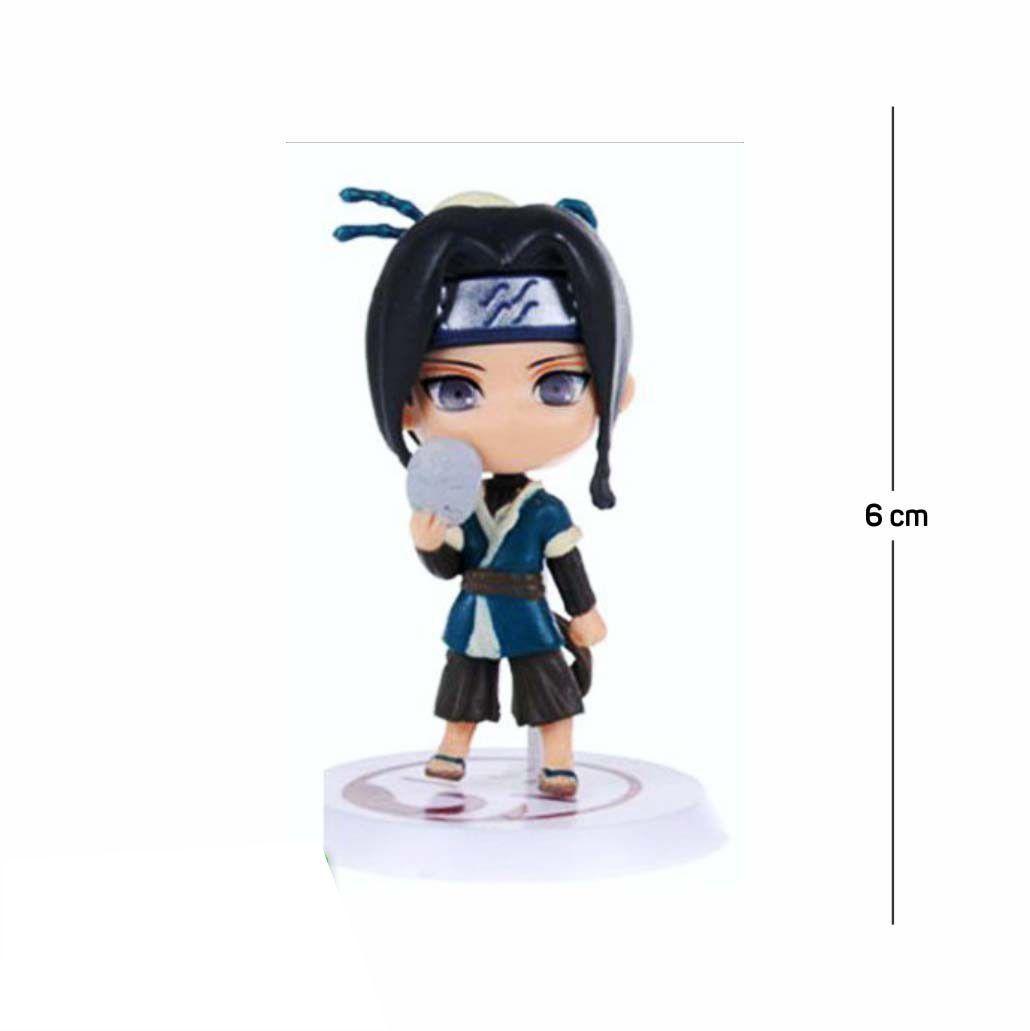 Action Figure Naruto Haku Classic 6CM PVC