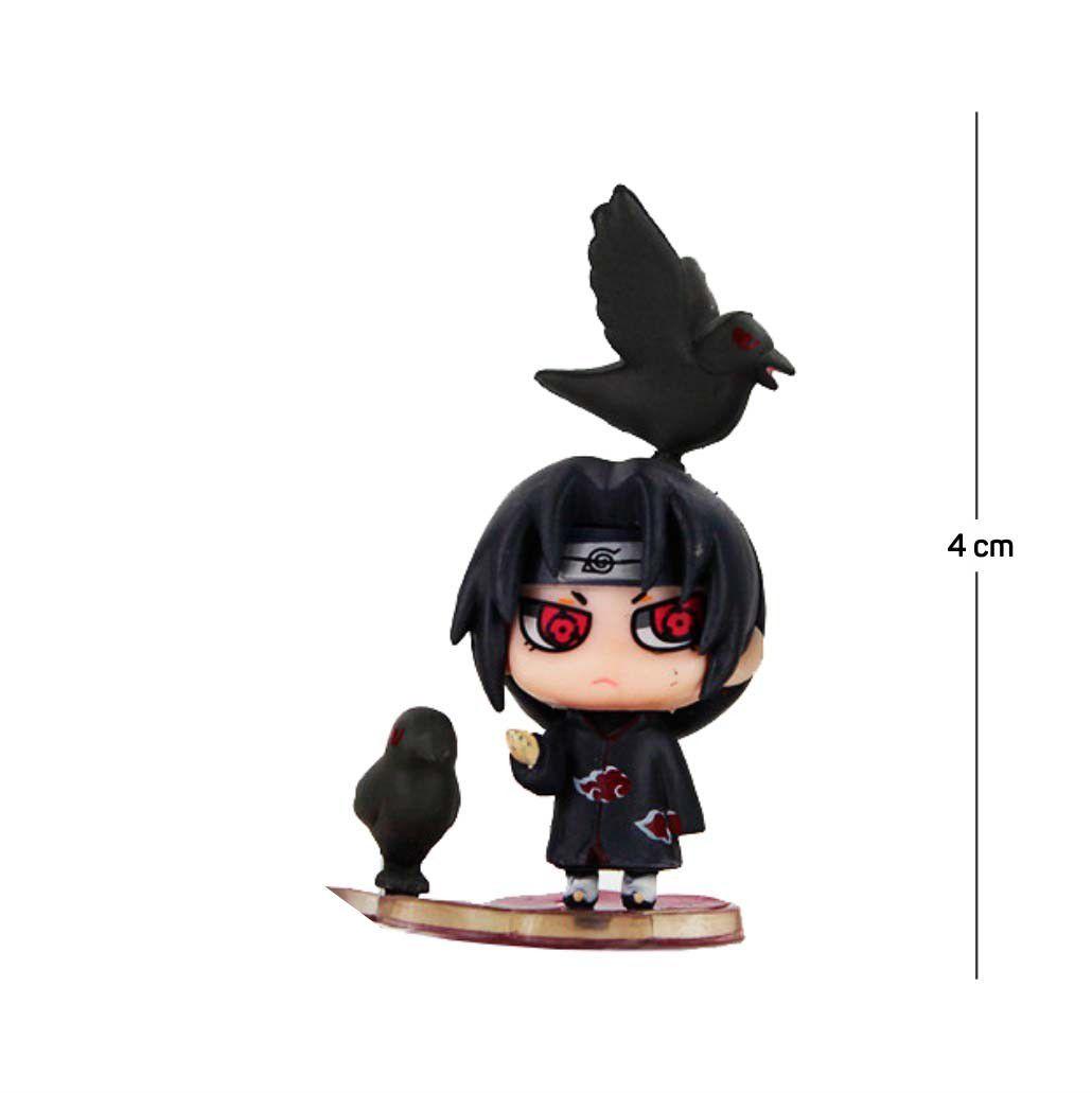 Action Figure Naruto Itachi 4CM PVC