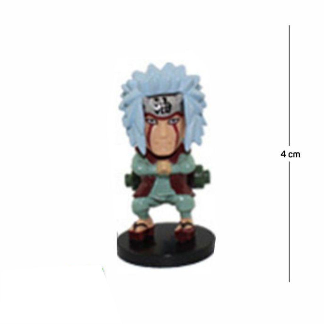 Action Figure Naruto Jiraya 4CM PVC