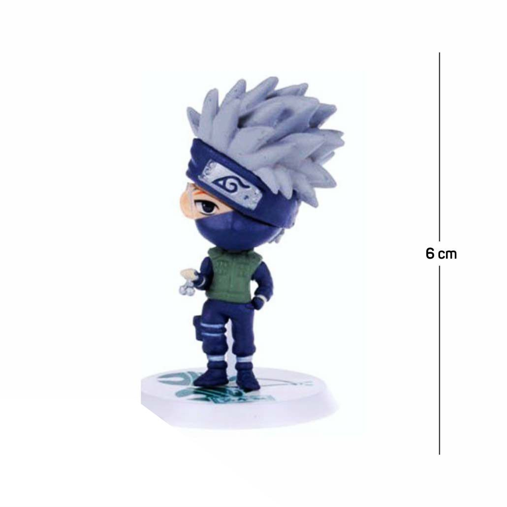Action Figure Naruto Kakashi Classic 6CM PVC