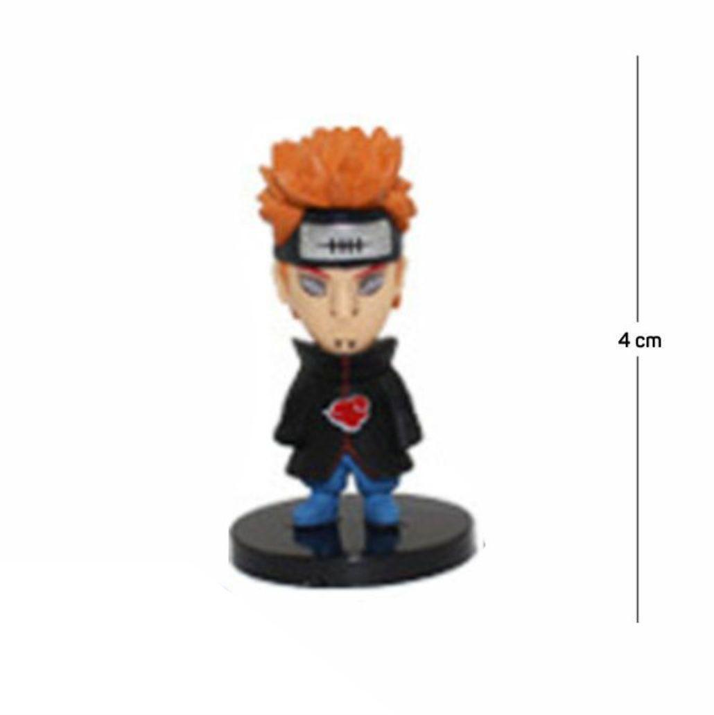 Action Figure Naruto Pain 4CM PVC