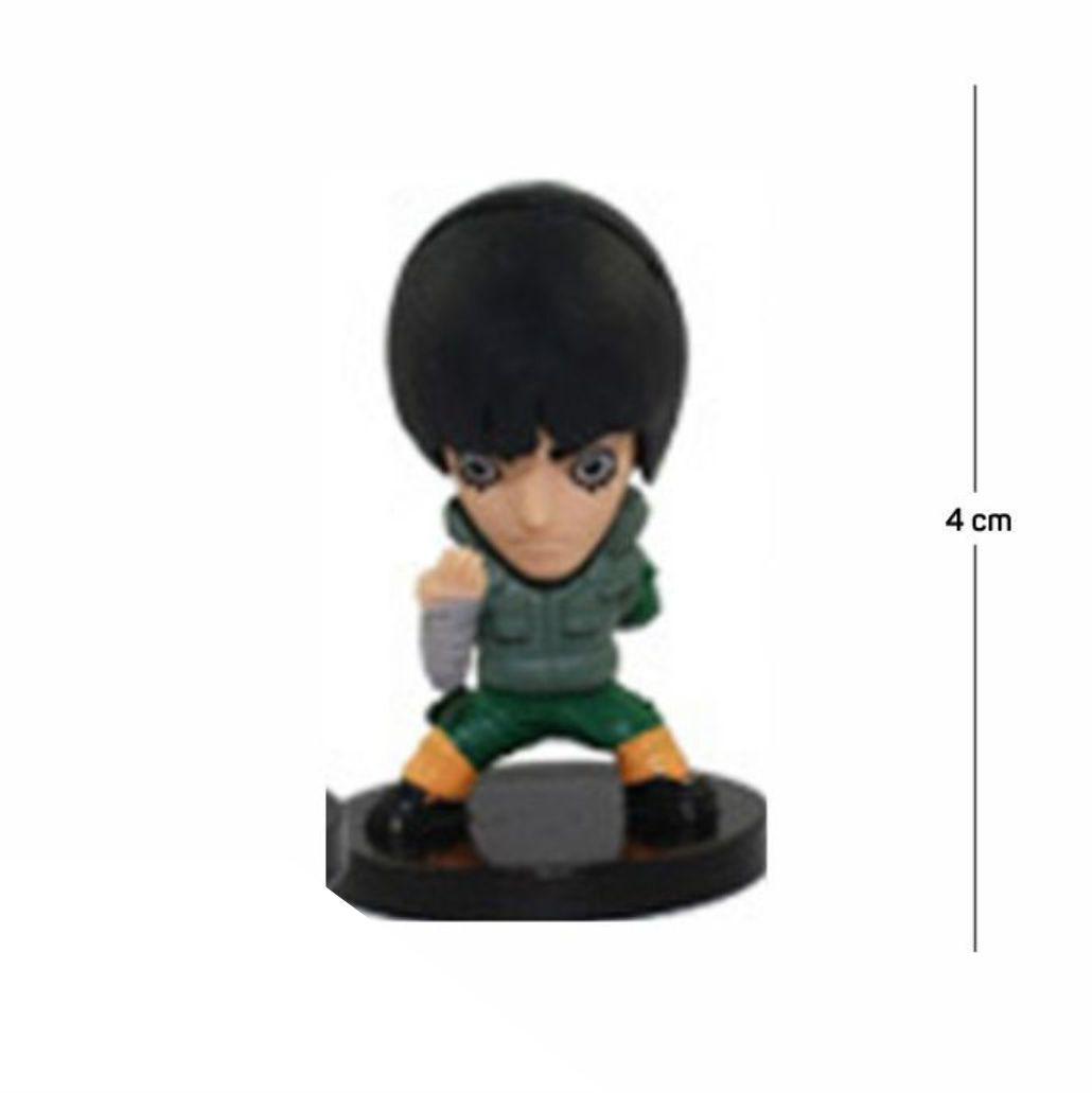 Action Figure Naruto Rock Lee 4CM PVC