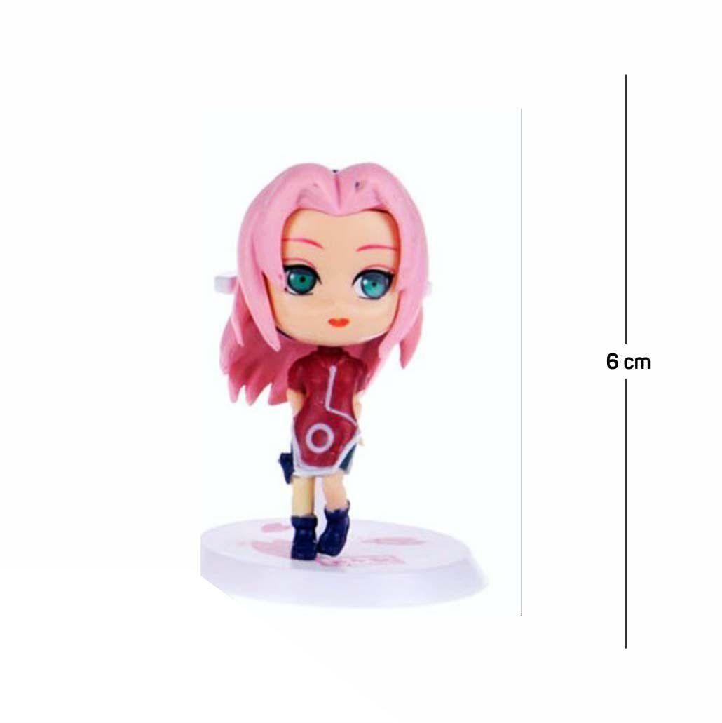 Action Figure Naruto Sakura Classic 6CM PVC
