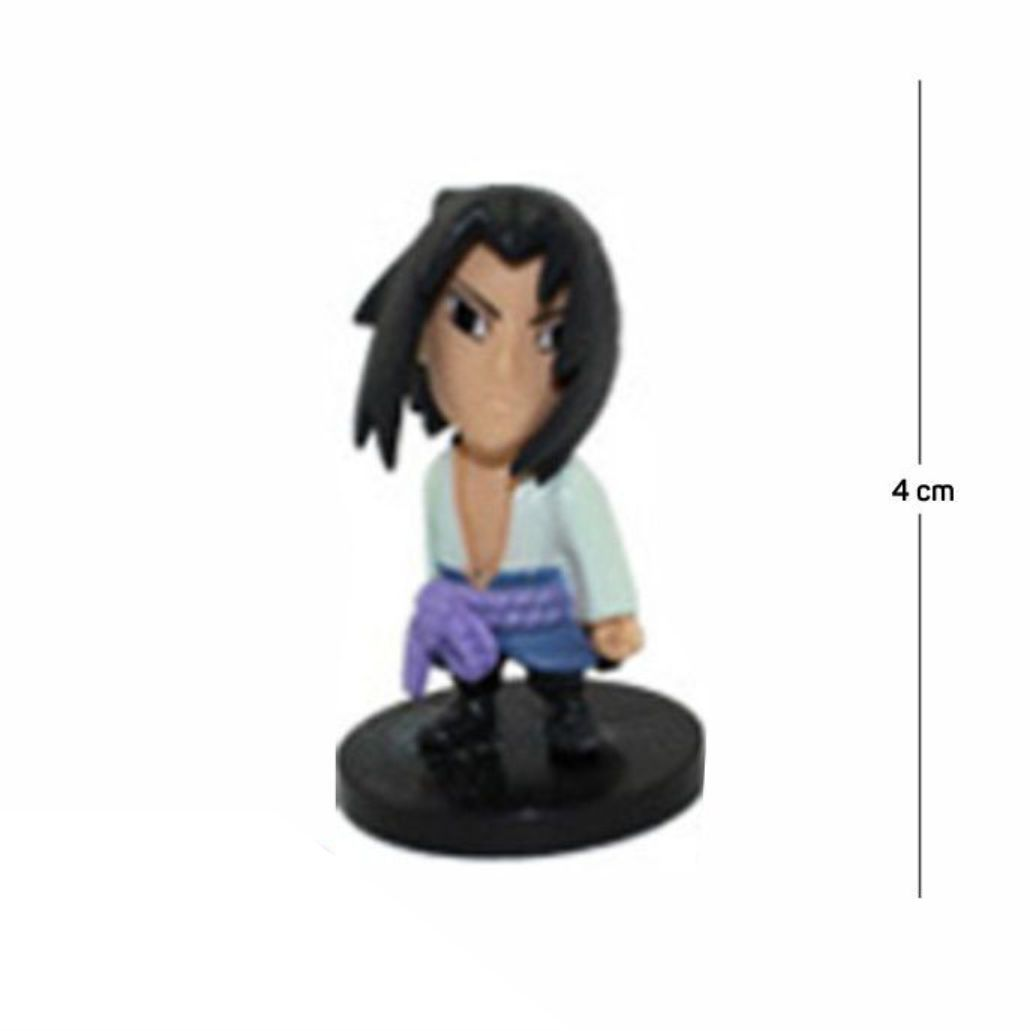 Action Figure Naruto Sasuke 4CM PVC